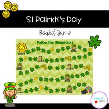 St. Patrick's Day Board Game