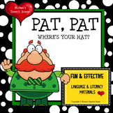 St. Patrick's Day EARLY READER RHYME SPEECH THERAPY