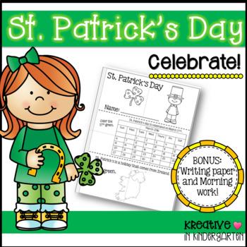 St. Patrick's Day Booklet