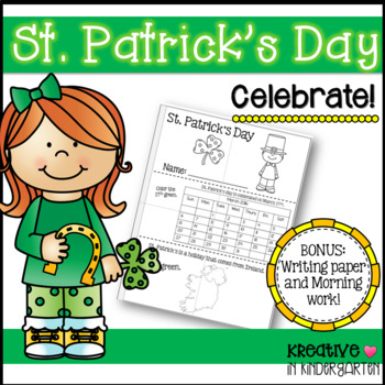 St. Patrick's Day Booklet