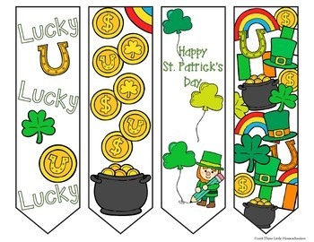 St Patrick's Day Bookmarks