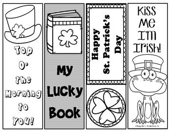 St. Patrick's Day Printable Bookmarks