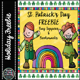 St. Patrick's Day Bookmarks & Bag Toppers {FREEBIE}