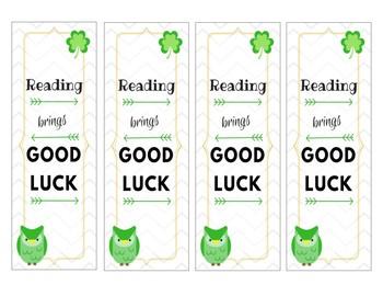 St. Patrick's Day Bookmarks {FREEBIE}