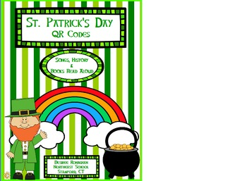 St. Patrick's Day Books and Songs: QR Codes