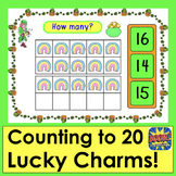 St. Patrick's Day Boom Cards Math Counting to 20 With Luck