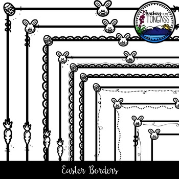 Easter Borders Clipart