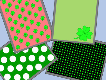 St. Patrick's Day Borders and Backgrounds