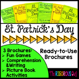 St. Patrick's Day Brochure Tri-folds