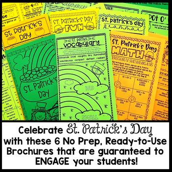 St. Patrick's Day Brochure Tri-folds