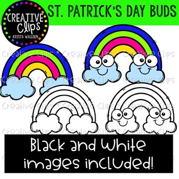 St. Patrick's Day Buds: St. Patrick's Day Clipart {Creative Clips Clipart}