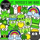 St. Patrick's Day Buds: St. Patrick's Day Clipart {Creativ