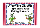 St. Patrick's Day Bugs Sight Word Race