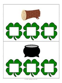 St. Patrick's Day- Build CVC Words