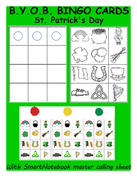 St.Patrick's Day Build-Your-Own-Bingo Cards
