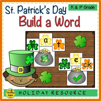 St. Patrick's Day Build a CVC Word