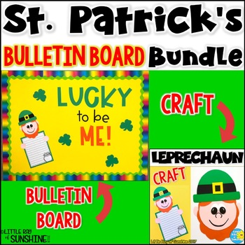 St. Patrick's Day Bulletin Board Bundle