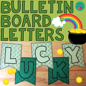 St Patrick's Day Bulletin Board Letters