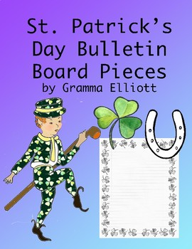 St. Patrick's Day Bulletin Board Pieces