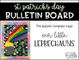 St. Patrick's Day Bulletin Board Template - Our Little Lep
