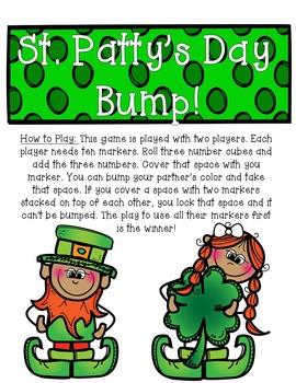 St. Patrick's Day Bump
