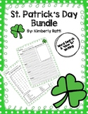 """St. Patrick's Day Word Search & """"How To"""" Writing"""