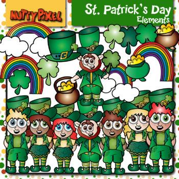 St Patrick's Day Bundle - Clip Art