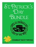 St. Patrick's Day Bundle: Grammar, Writing, Math