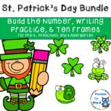 St. Patrick's Day Bundle- Math & Writing - Pre-K, Preschoo