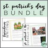 St. Patrick's Day Bundle | St Patrick and The Emerald Isle | Leprechaun Writing