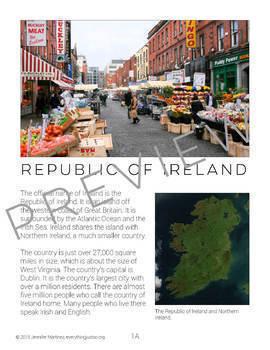 St. Patrick's Day Bundle | St Patrick and The Emerald Isle | Leprechaun Writing