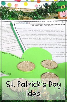 St. Patrick's Day Bundle includes a Nonfiction Article two STEM Activities