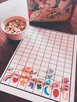 St. Patrick's Day Bundle of Fun - Math, Letter, Bingo, Sorting Activity, Snack +