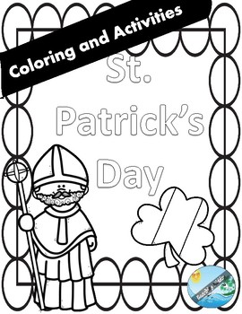 St. Patrick's Day  COLORING and GAMES ( NO PREP )