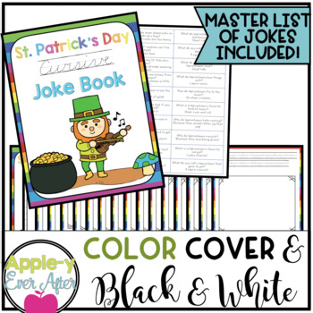 St. Patrick's Day CURSIVE Joke Book