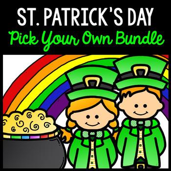 St. Patrick's Day - CUSTOM BUNDLE - Special Education - Print & Go - Life Skills