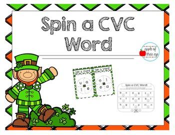 St. Patrick's Day CVC Bundle