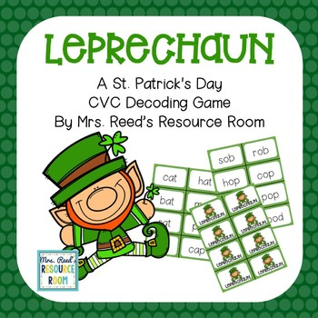 St. Patrick's Day CVC Game