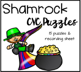 St. Patrick's Day CVC Puzzles
