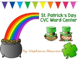 St. Patrick's Day CVC Word Center