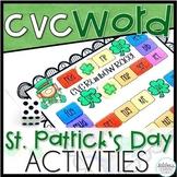 St. Patrick's Day CVC Words Activities