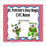 St. Patrick's Day CVC Word Race