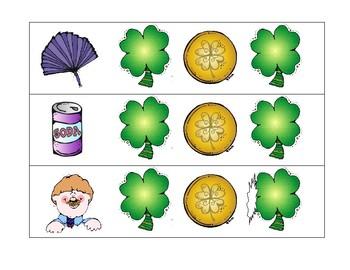 St Patrick's Day CVC words