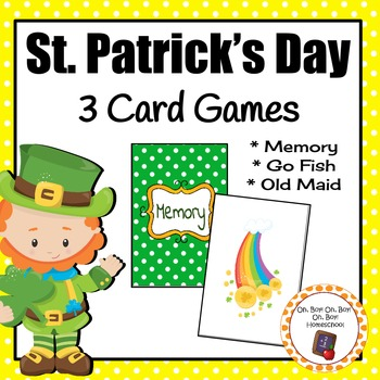 Card Games: St. Patrick's Day Card Games