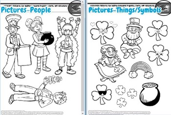 St. Patrick's Day Card-Making Kit! Poems, Pictures, Text, & Instant Leprechaun!