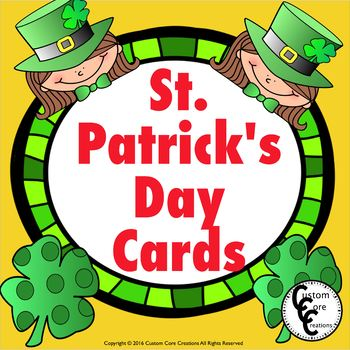 St. Patrick's Day Cards