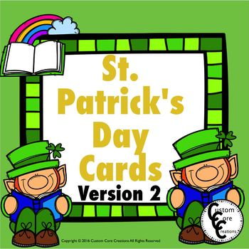St. Patrick's Day Cards version 2