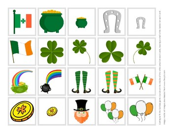 St. Patrick's Day Cariboo Cards