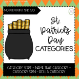 St. Patrick's Day Categories [NO PREP - Print and GO!]