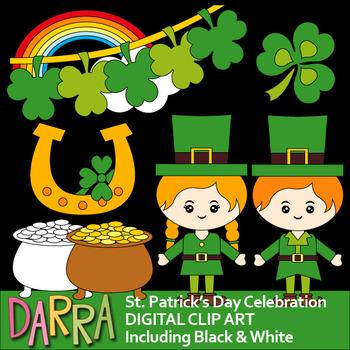 St. Patrick's Day Celebration Clip Art Holidays